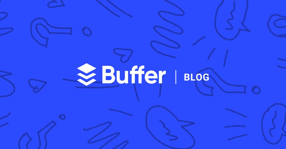 Entrepreneur blogs #15: Buffer's blog