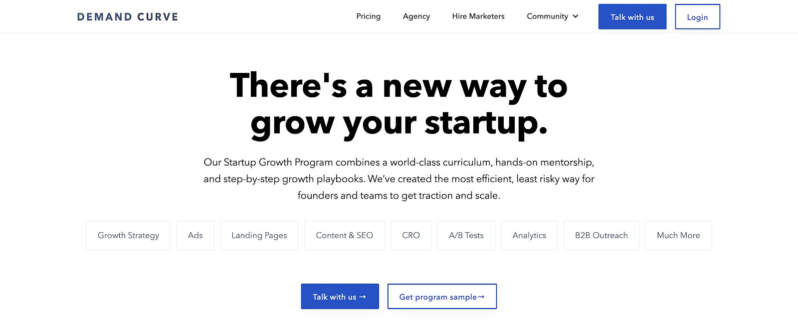 Online courses for entrepreneurs #6: Demand Curve