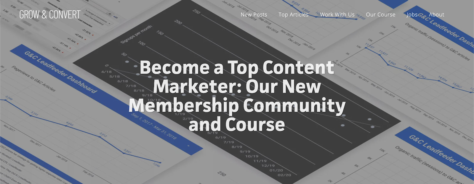 Entrepreneur courses #2: Customers from Content