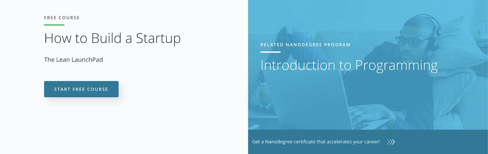 Entrepreneur online courses #18: How to Build A Startup