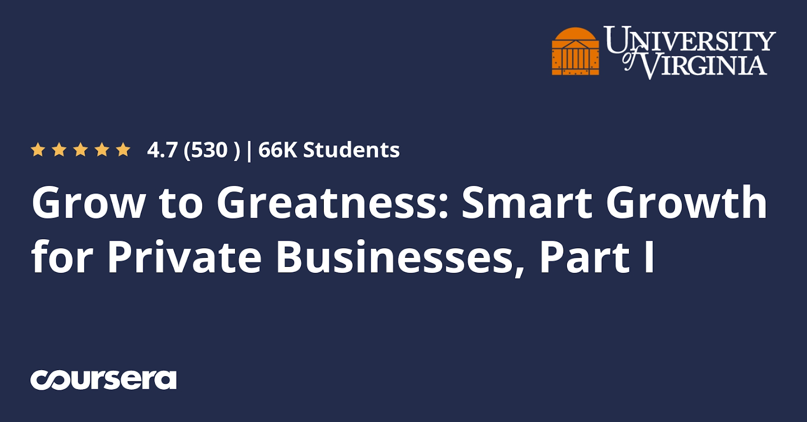 Online courses for entrepreneurs #20: Grow To Greatness