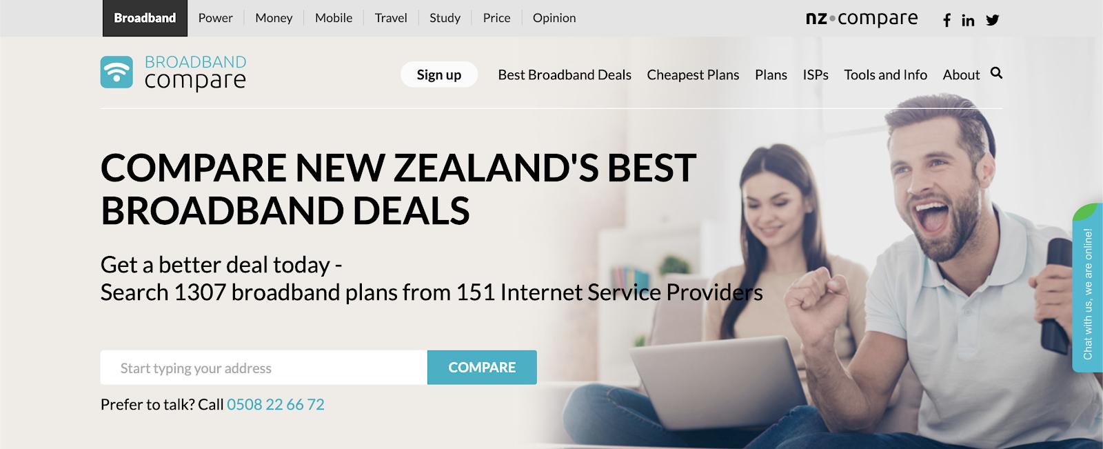 BroadbandCompare