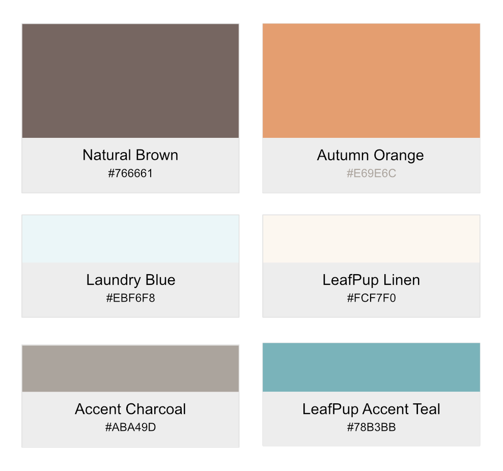Brand's colors