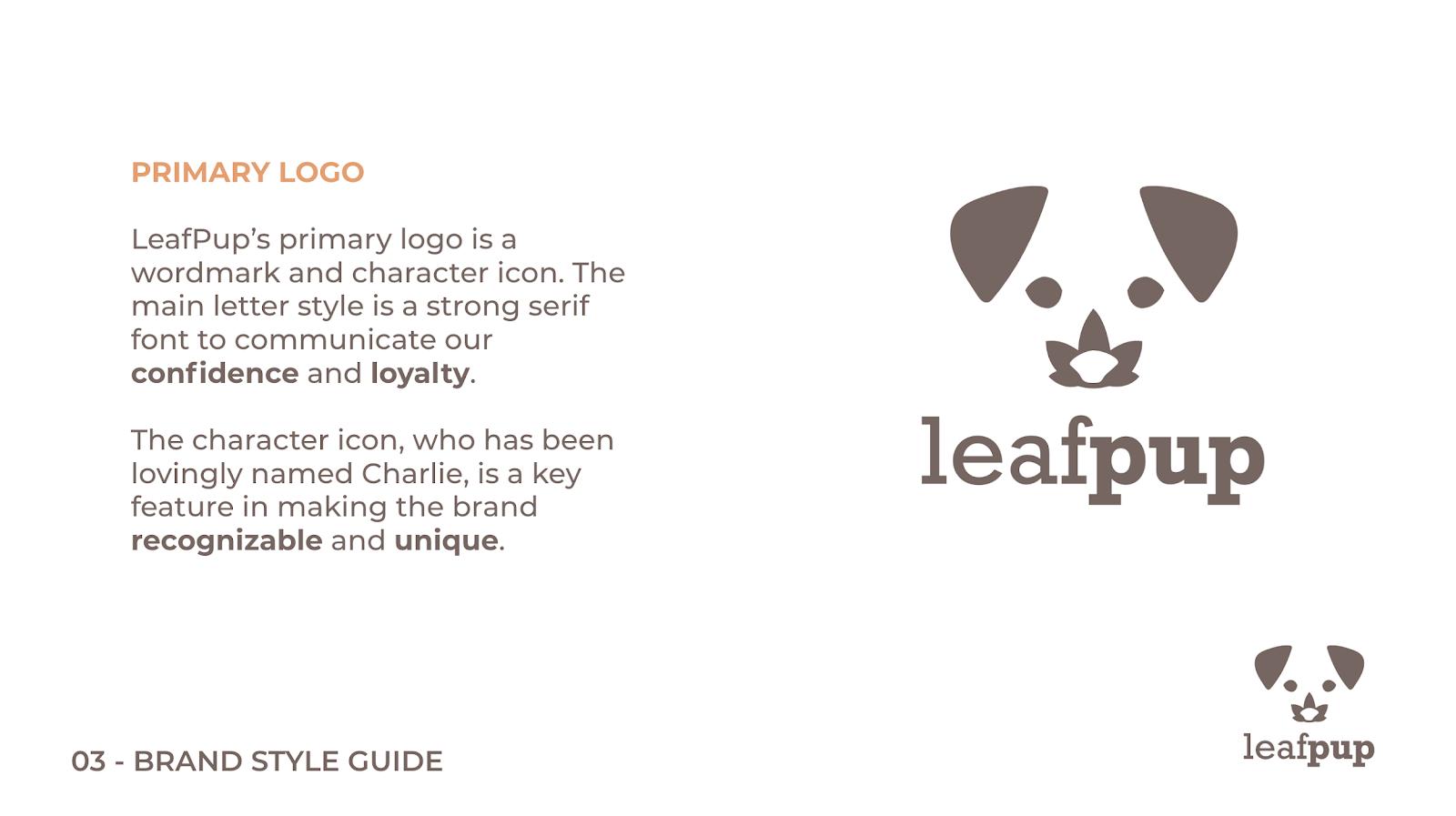 Leafpup's Primary Logo
