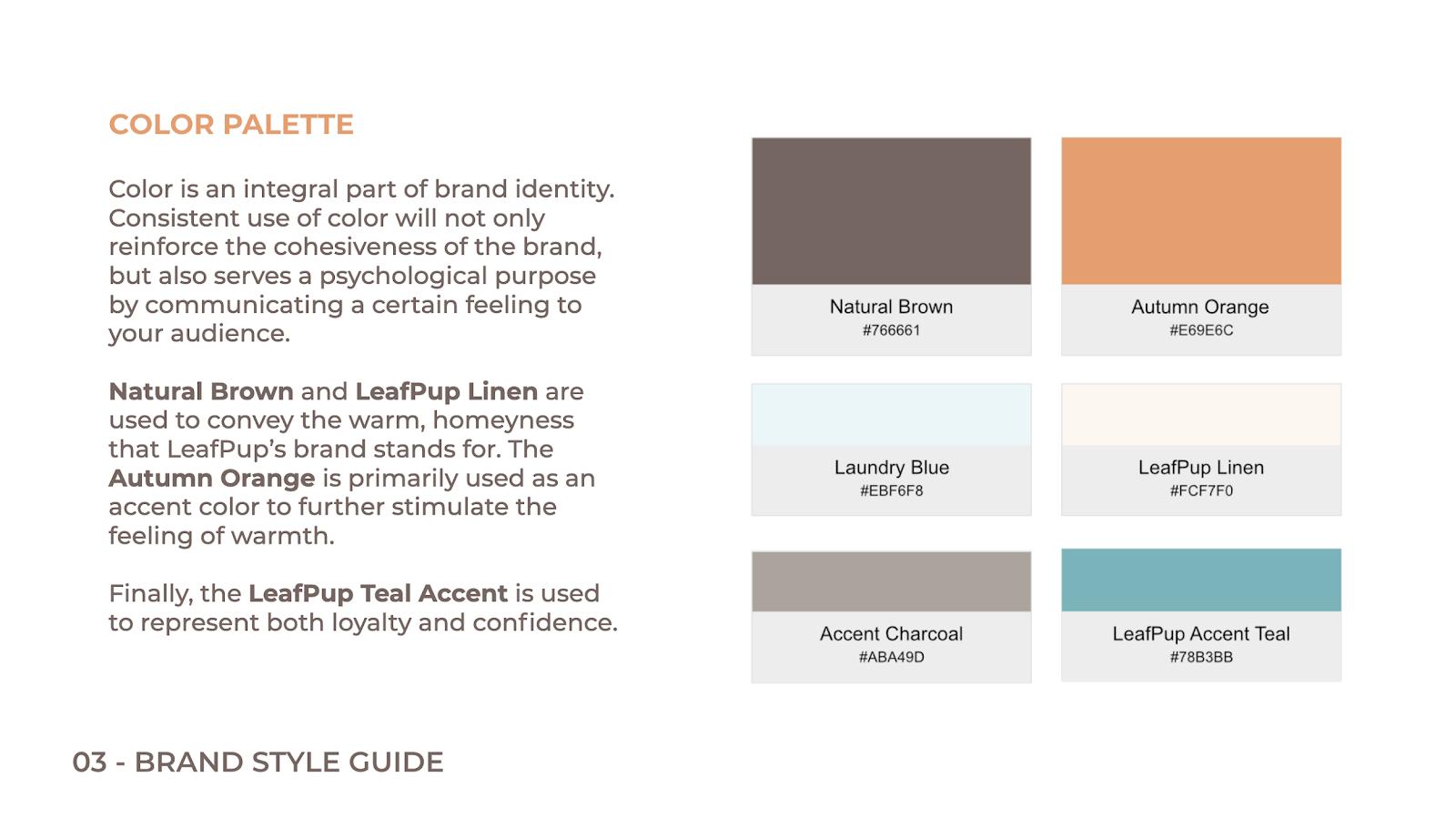 Leafpup's Color Palette