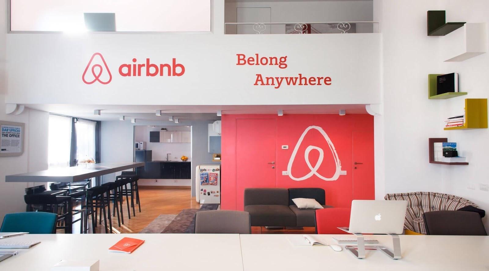 Airbnb's startup brand