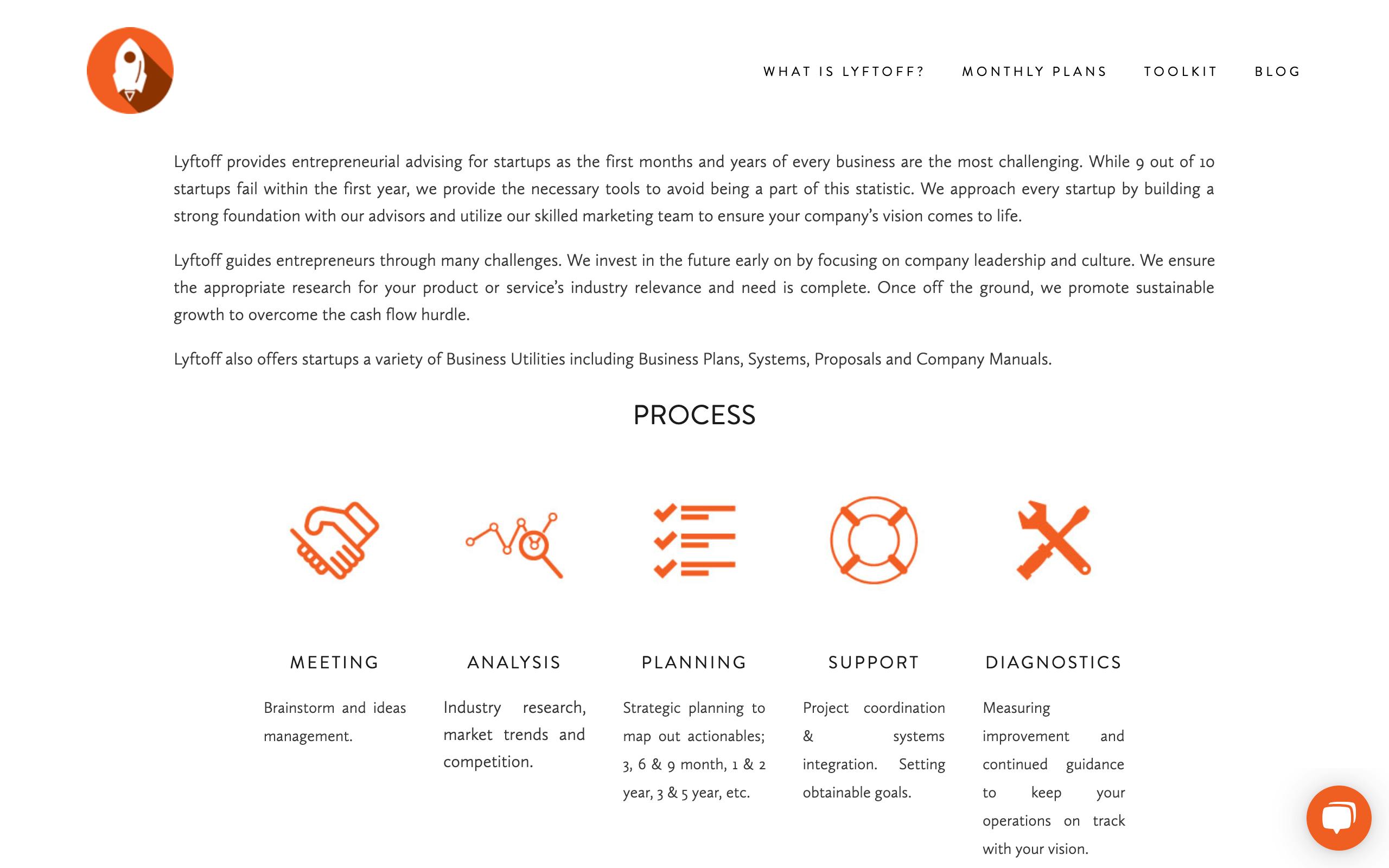 Startup Advisors - Lyftoff
