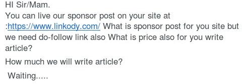 Linkody guest posts