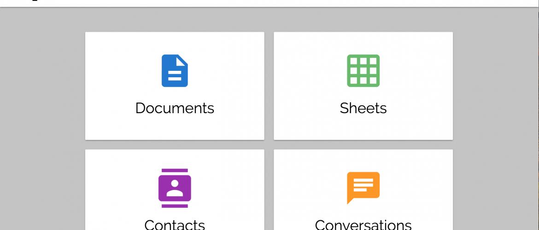 Graphite Docs' dashboard