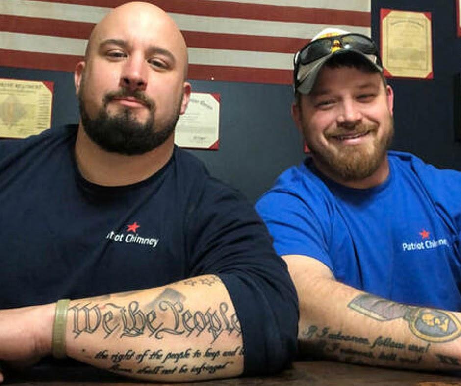 Patriot Chimney's founders