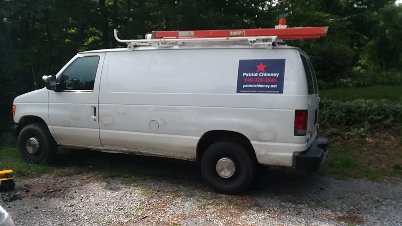 Patriot Chimney's Van