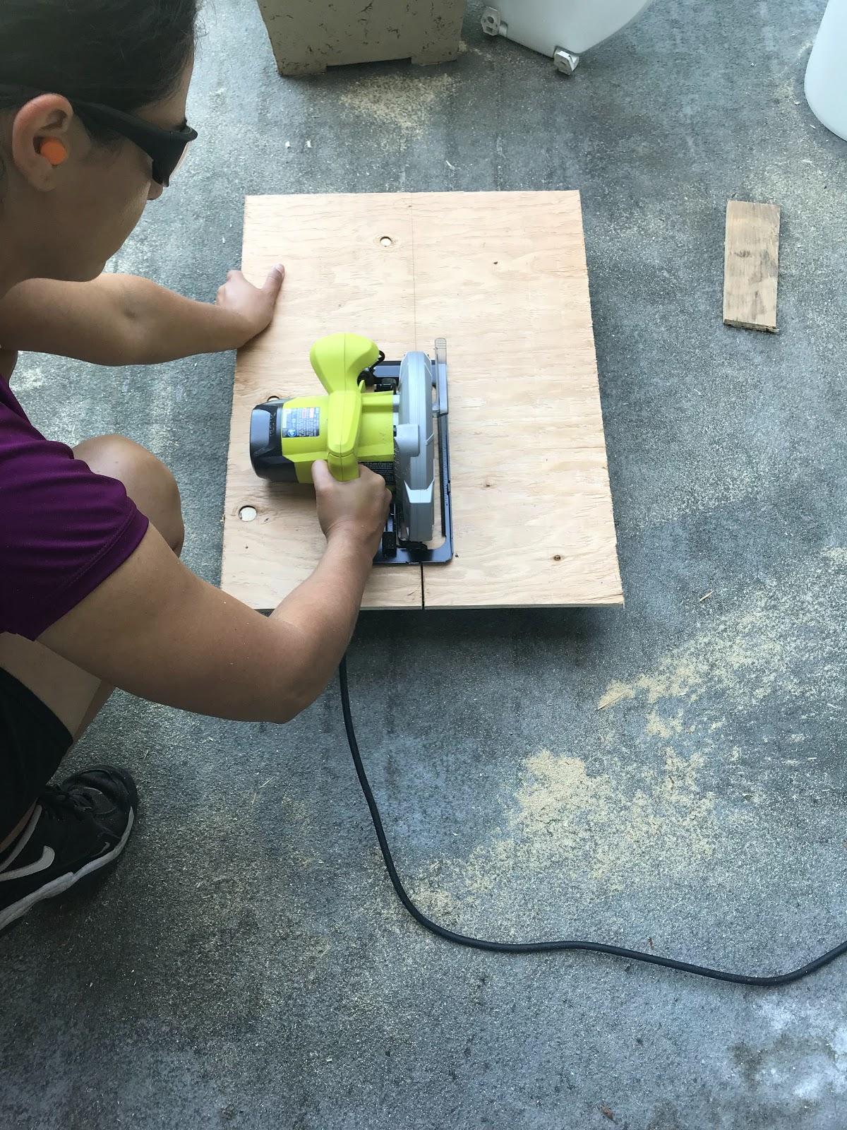 Campertunity Cutting Wood