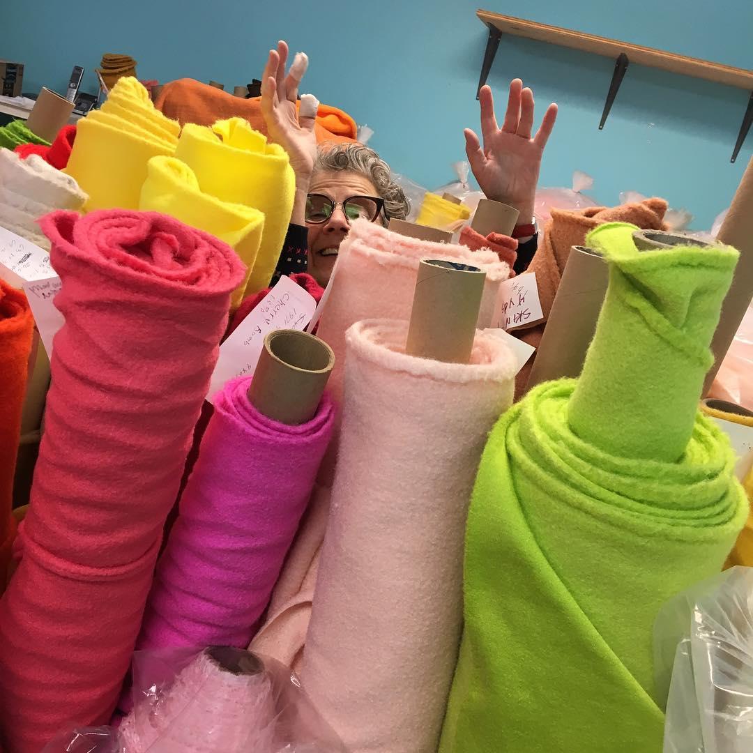Puppet Pelts Textile