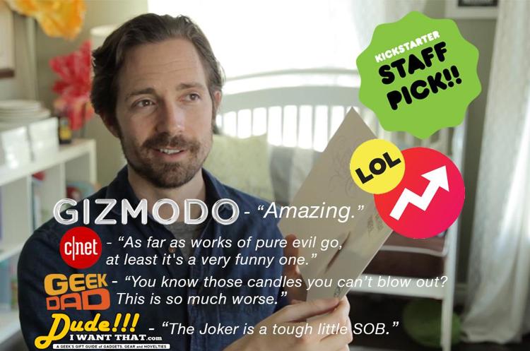 Kickstarter campaign ad