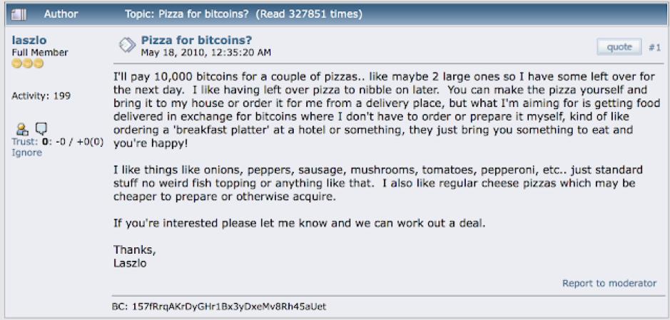 Phez Pizza for Bitcoin