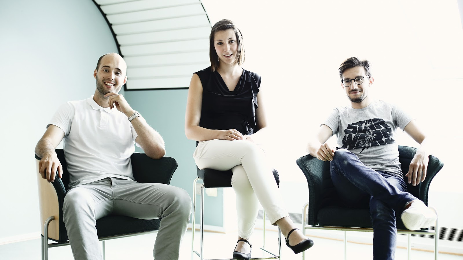 Kasper, Yana and Stefan at Denmark