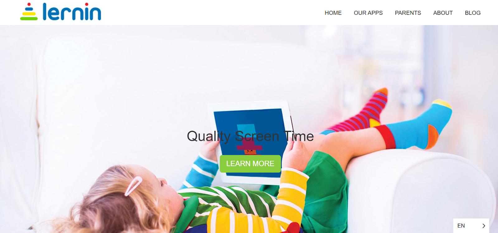 Lernin Homepage