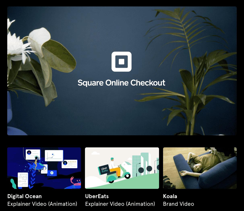 Vidico Square Online Checkout