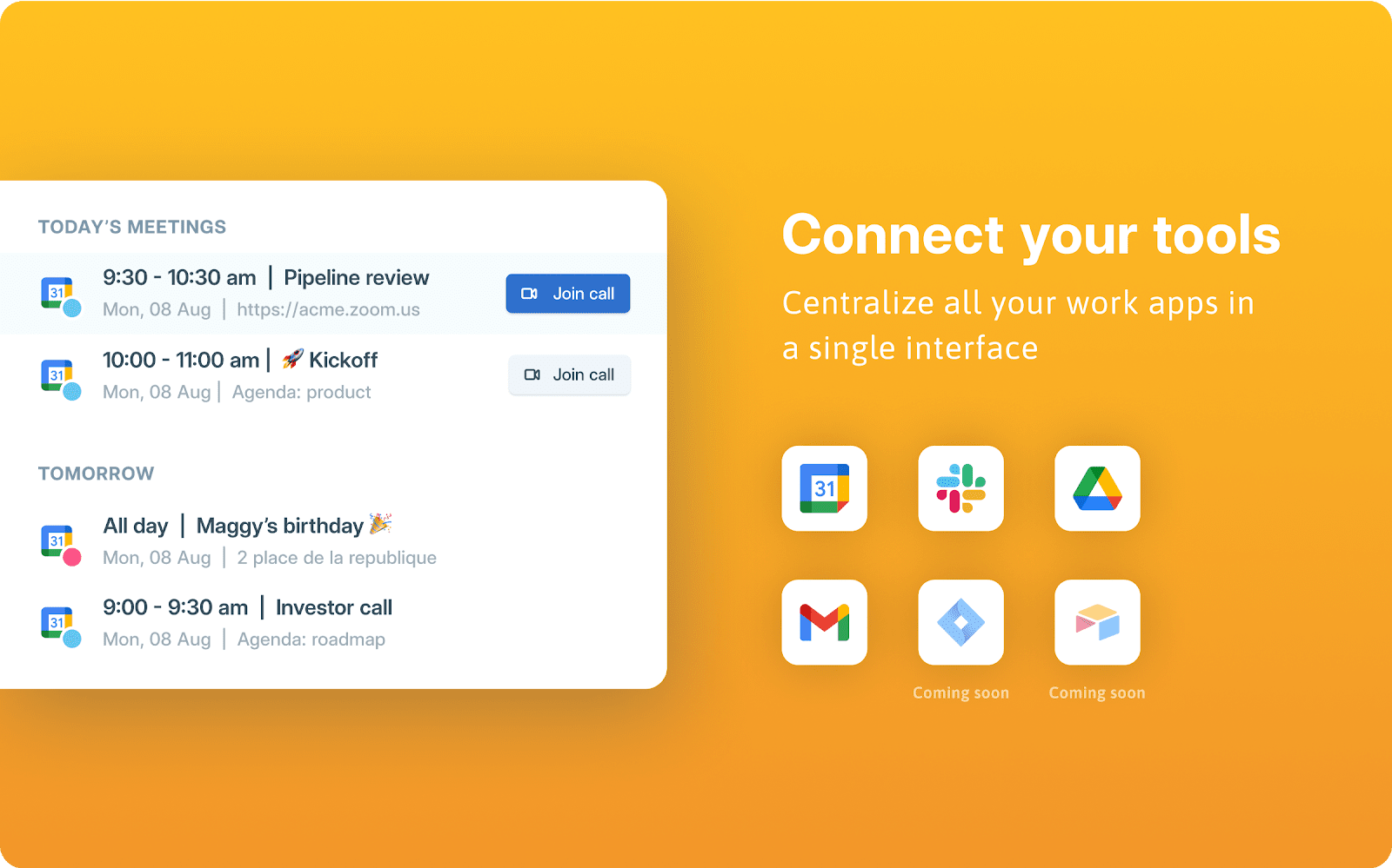 Station Connect Your Tools