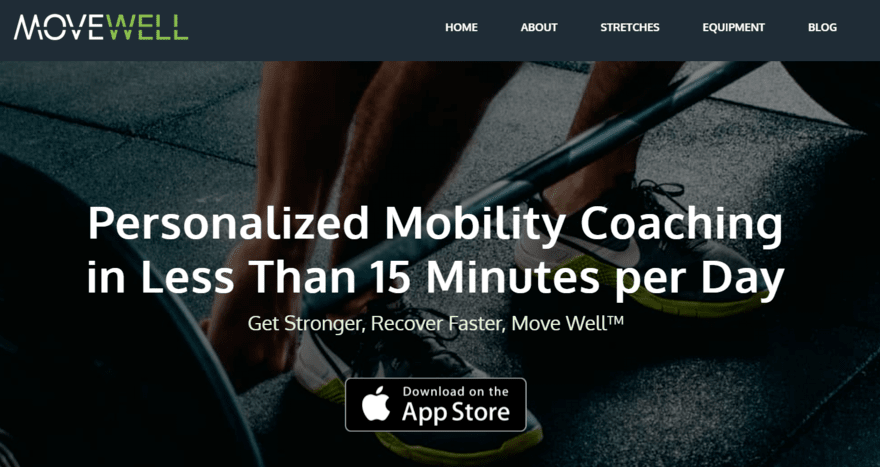 MoveWell Landing Page