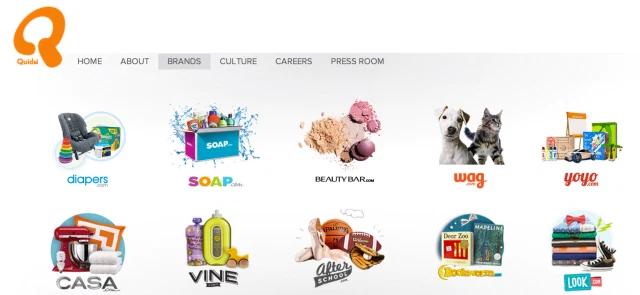 Amazon Quidsi Brands