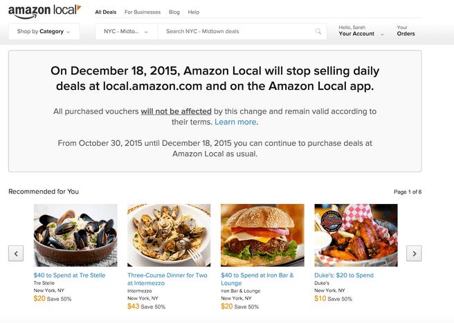 Amazon Local Marketplace