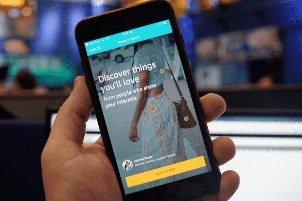 Amazon Spark Mobile App
