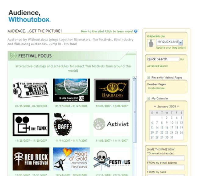 Amazon Withoutabox Website