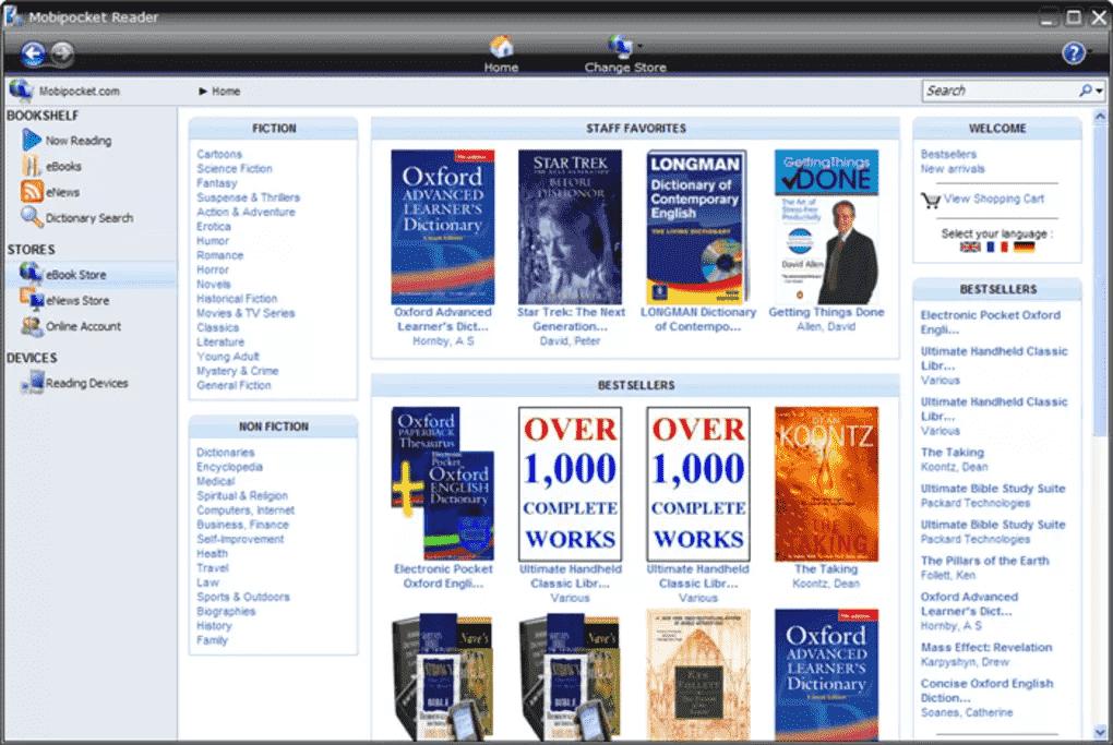 Amazon Mobipocket Reader