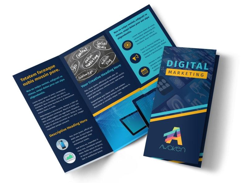 Create Marketing Brochures