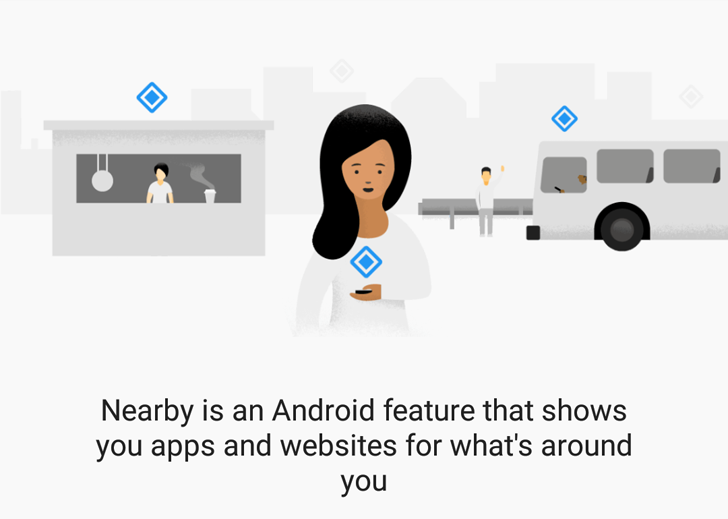 Google Nearby Notifications