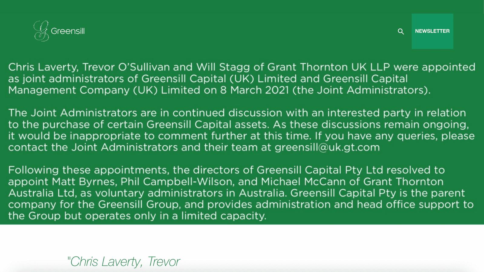 Greensill Capital