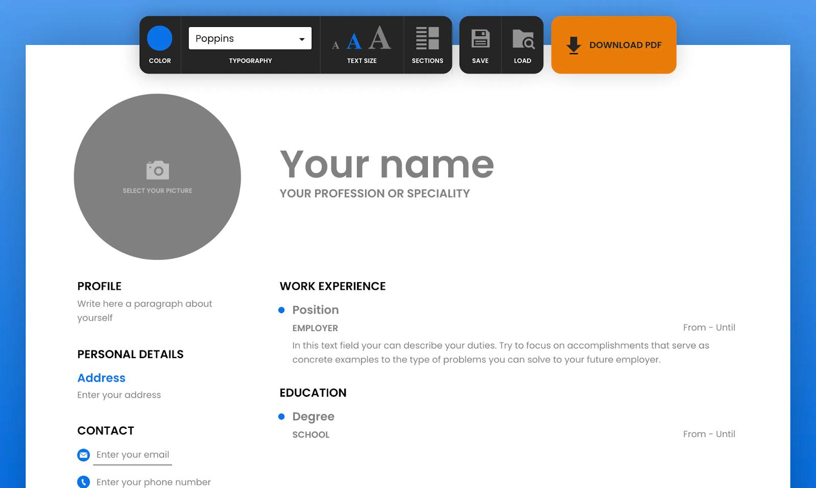 ResumeMaker CV Builder