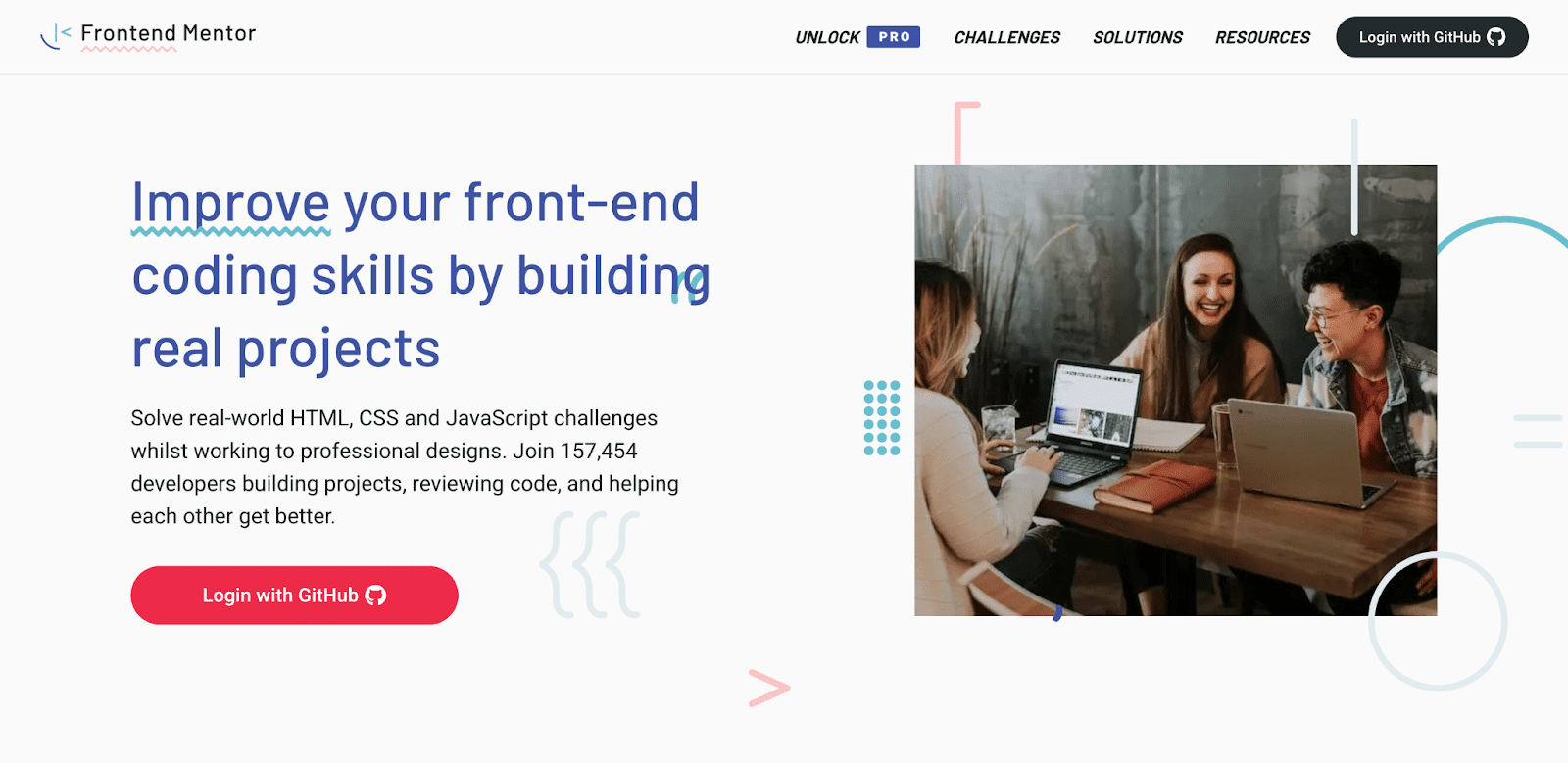 Frontend Mentor Landing Page