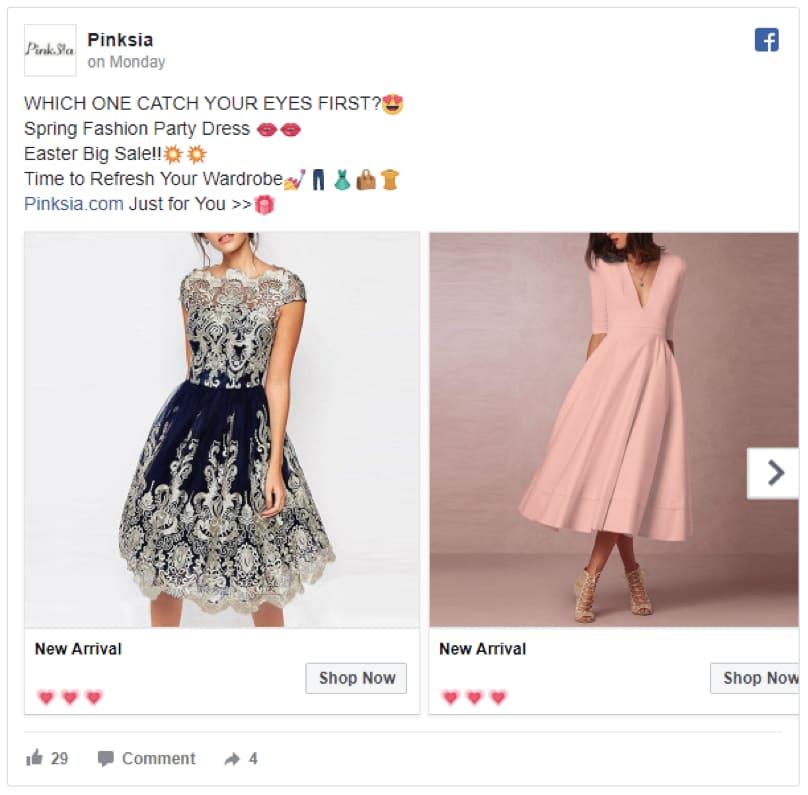 eCommerce Failure Facebook