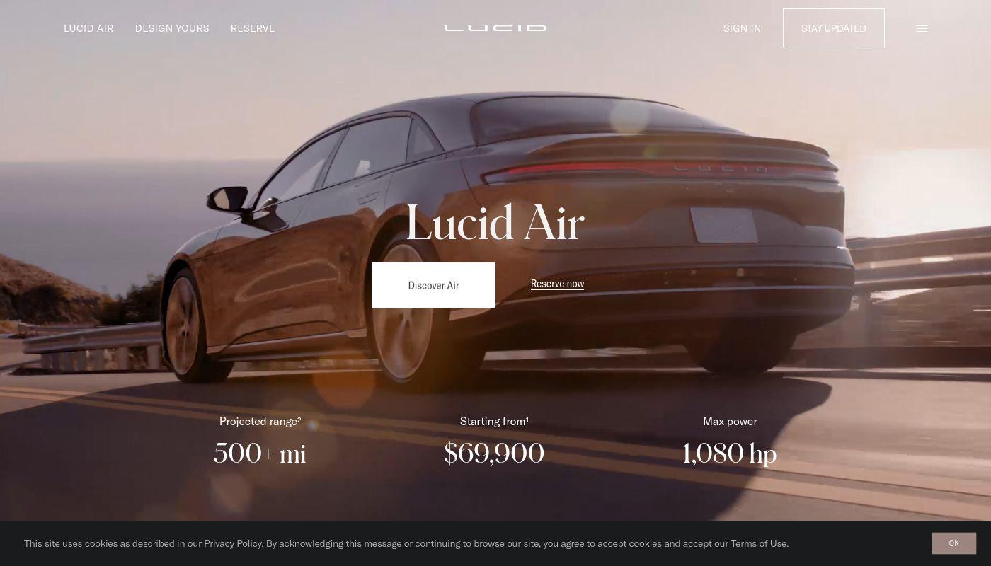 26) Lucid Motors
