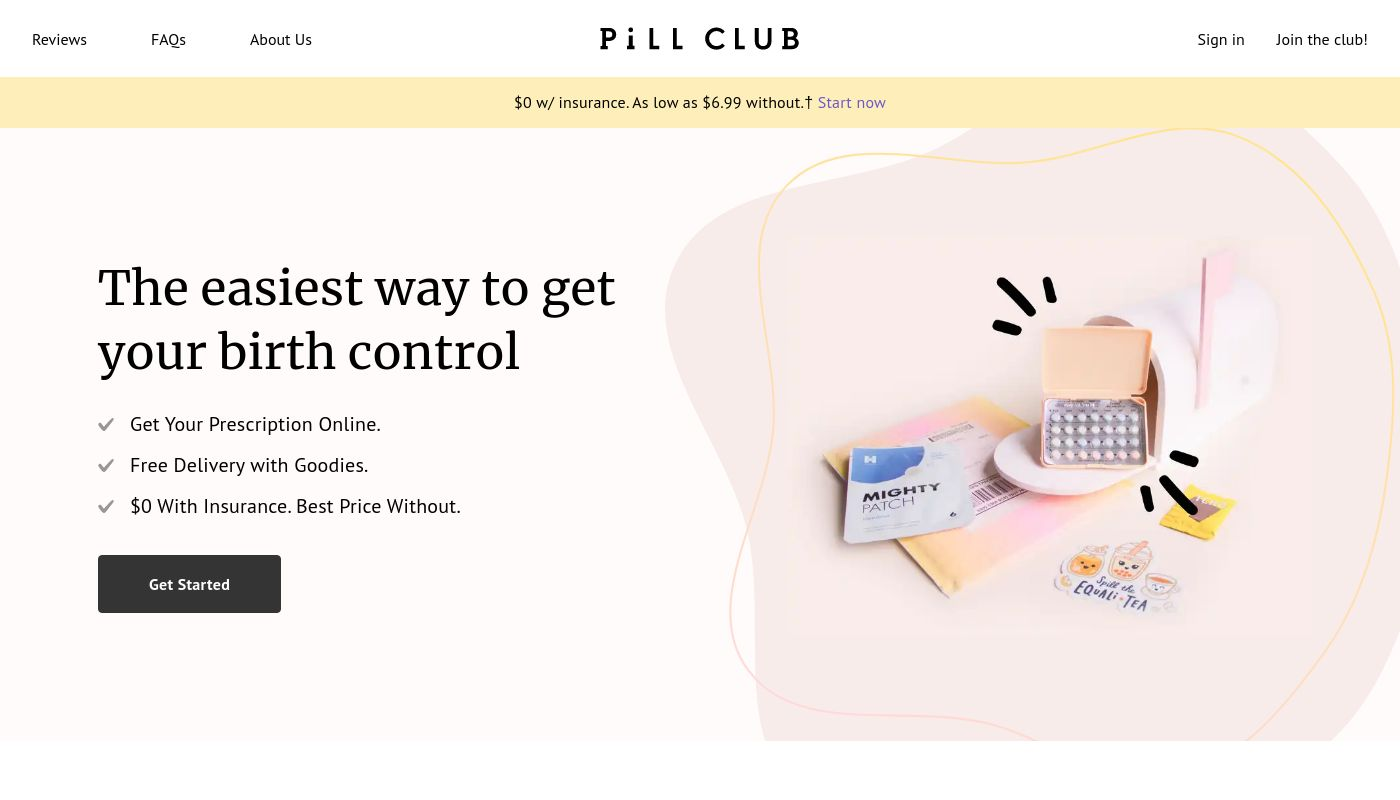 11) The Pill Club