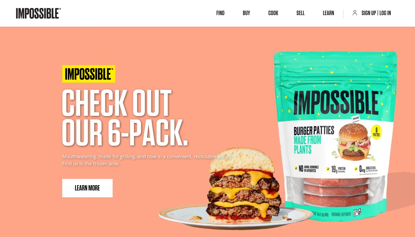 1) Impossible Foods
