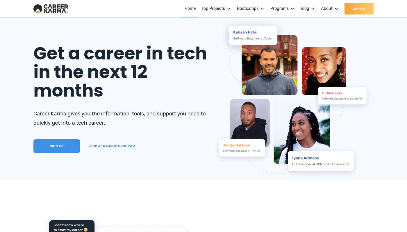 91) Career Karma