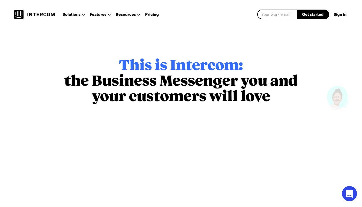 5) Intercom