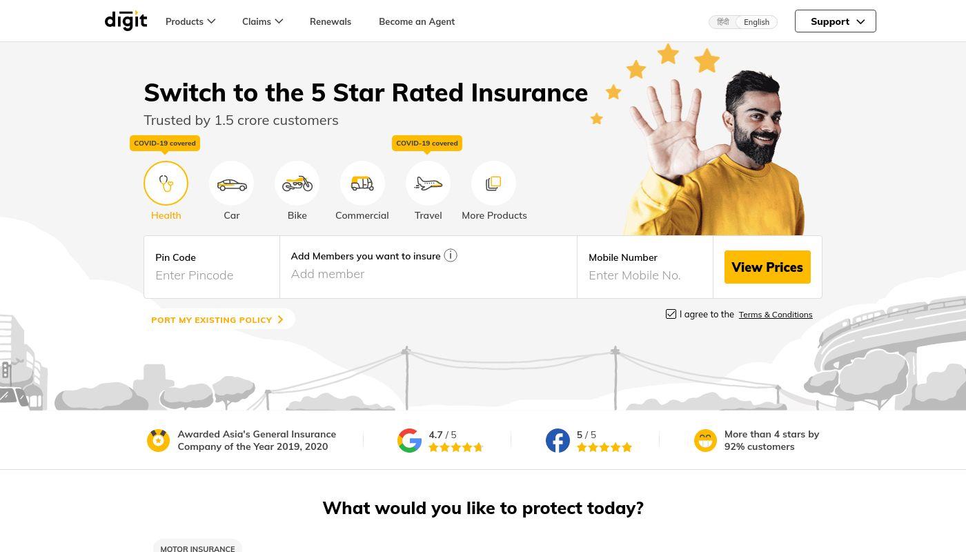113) Digit Insurance