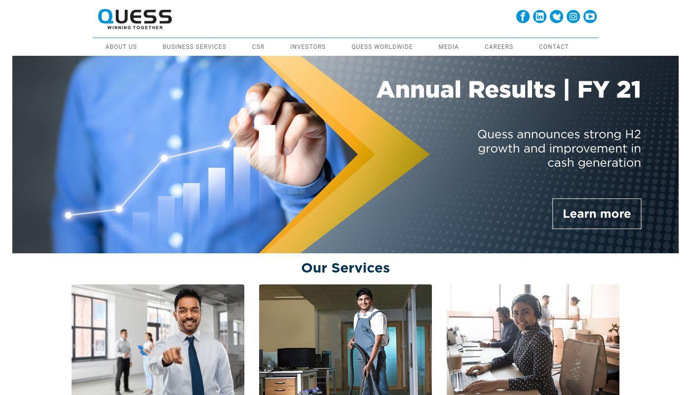33) Quess Corp