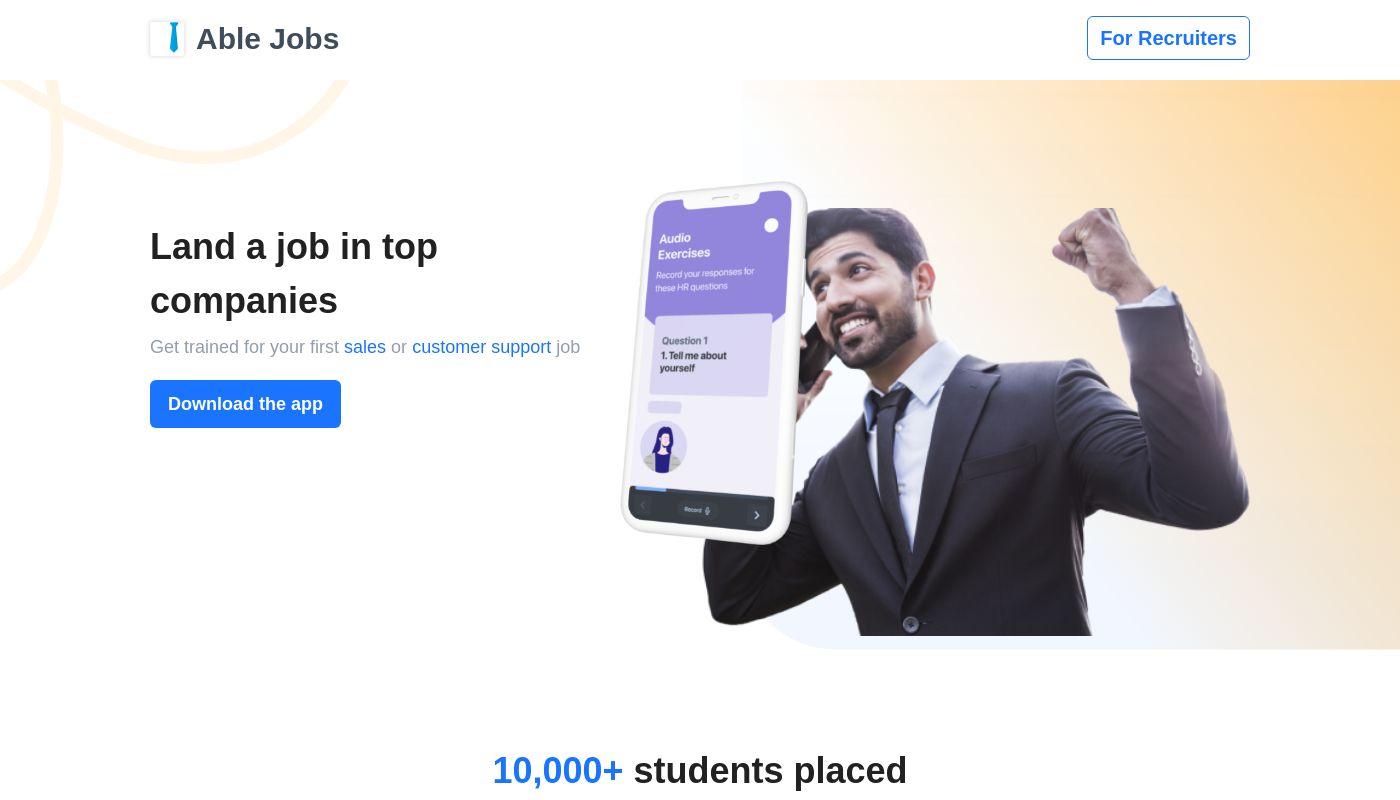 85) Able Jobs