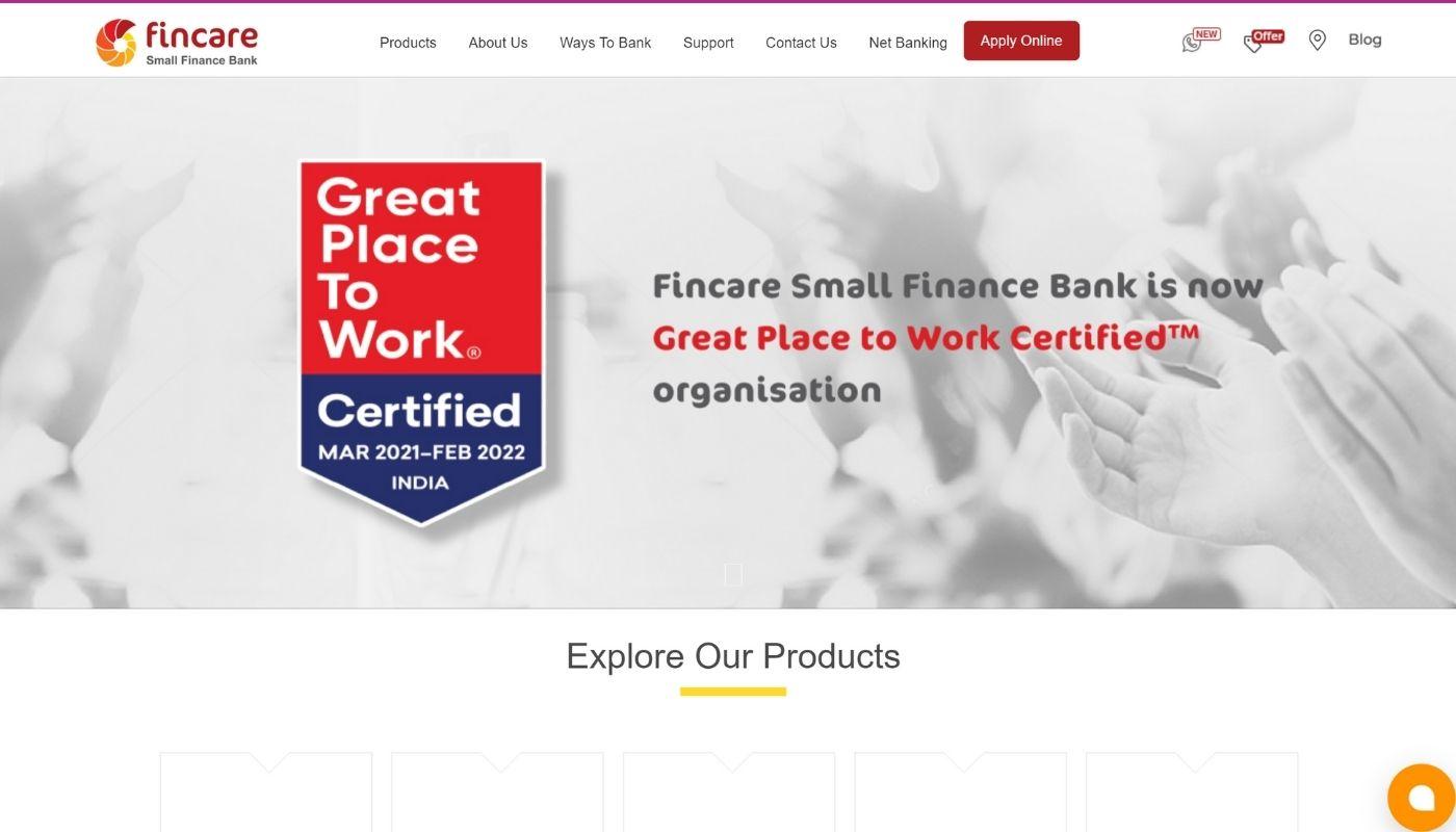 243) Fincare Small Finance Bank
