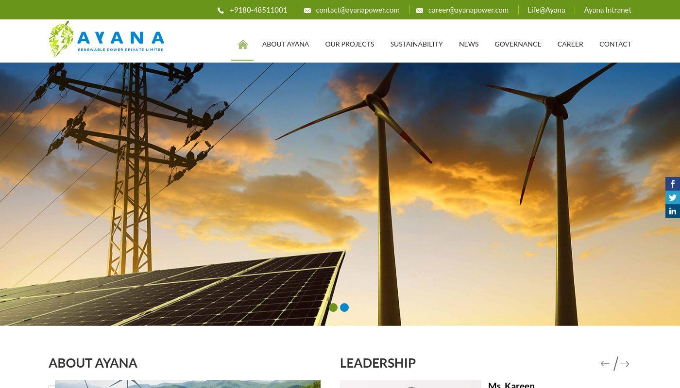 275) Ayana Renewable Power