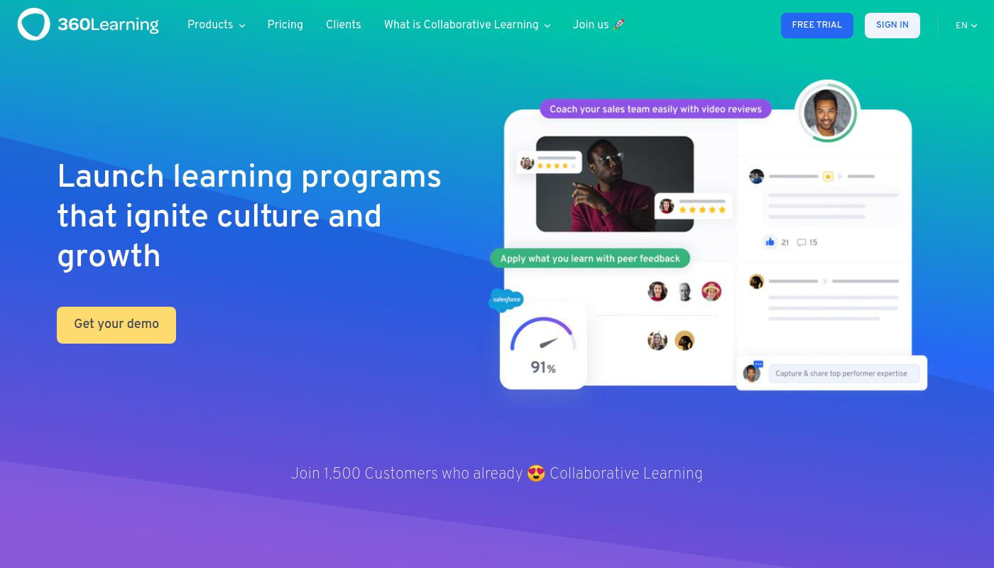 96) 360Learning
