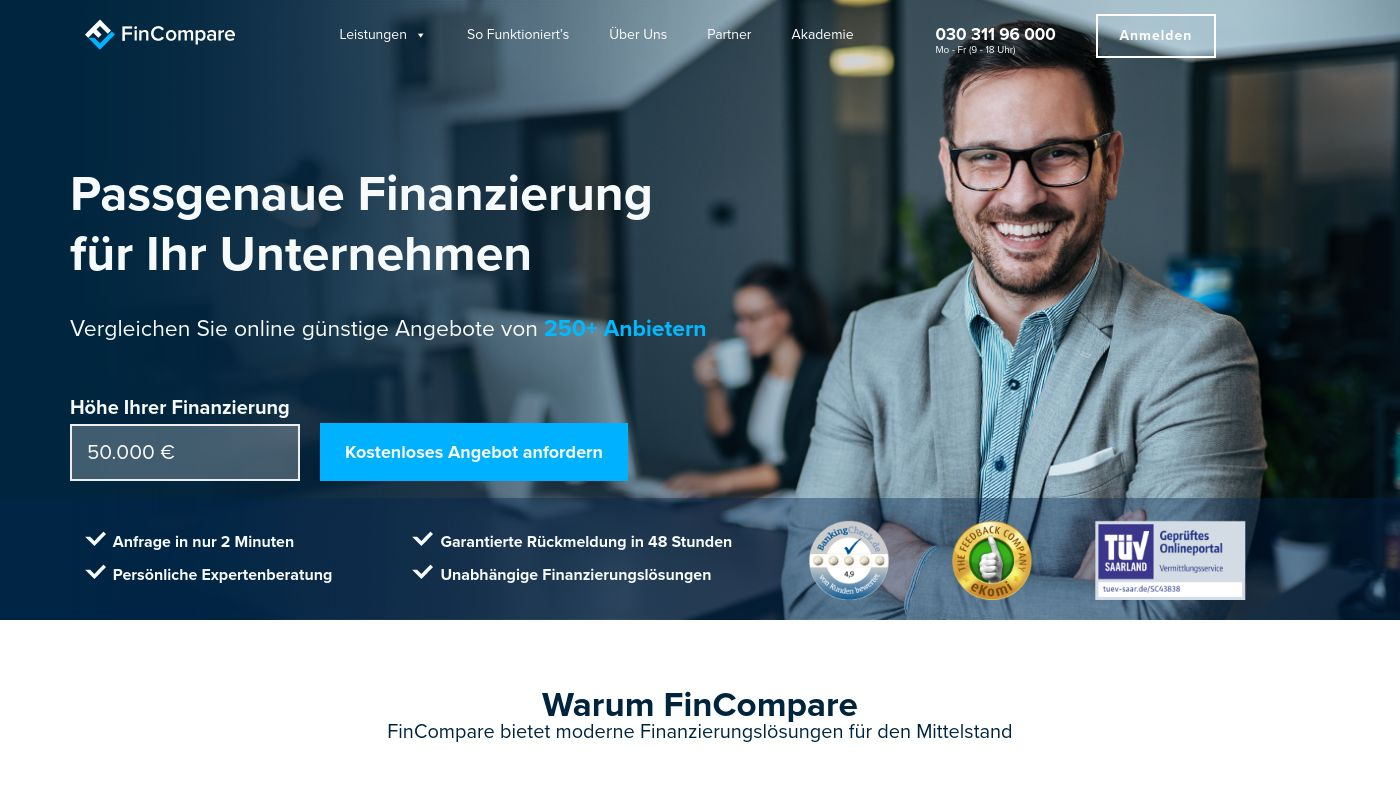 245) FinCompare - Smarter Business Finance