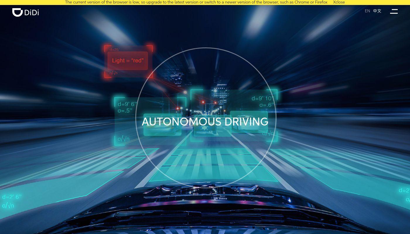 59) DiDi Autonomous Driving
