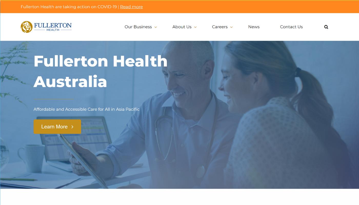 133) Fullerton Healthcare Corporation