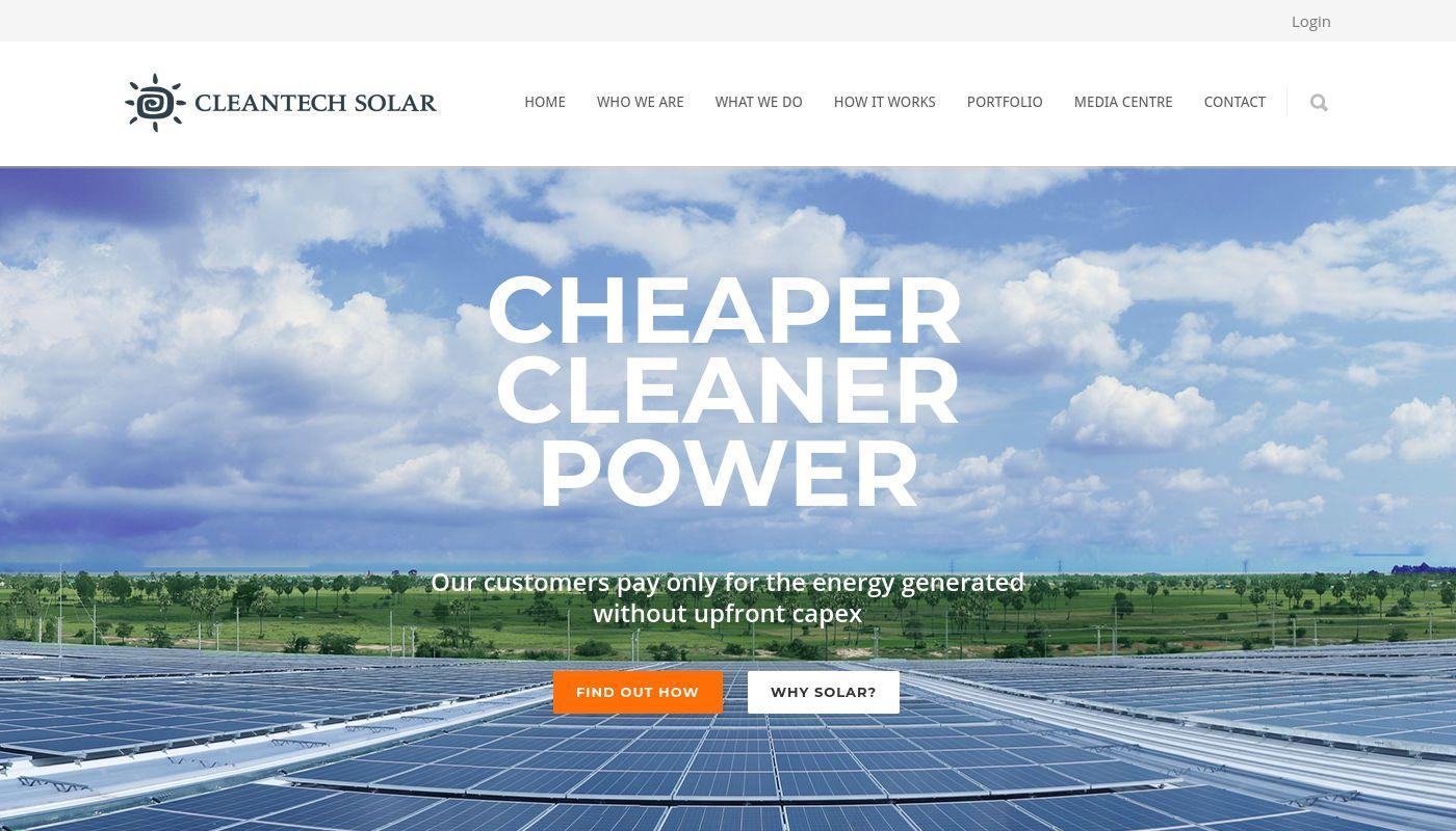 161) Cleantech Solar